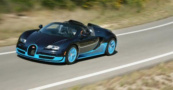bugatti veyron grand sport vitesse mais rapido. Black Bedroom Furniture Sets. Home Design Ideas