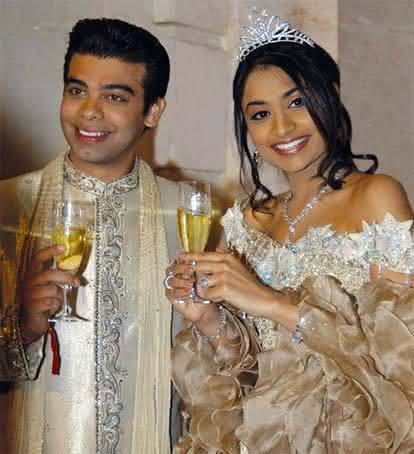 Vanisha Mittal e Amit Bhatia
